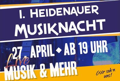 1. Heidenauer Musiknacht