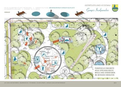 Entwurfsskizze Neugestaltung Spielplatz Fritz-Gumpert-Platz