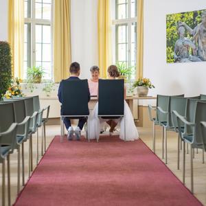 Trauung im Barockgarten Großsedlitz
